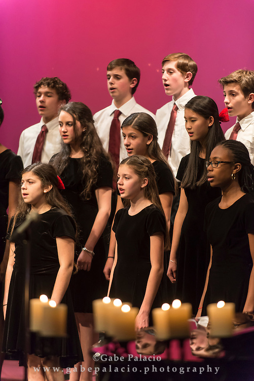 The Harvey School Candlelight Concert  in The Lasdon Theatre at the Harvey School in Katonah on  December 18, 2013. <br /> (photo by Gabe Palacio)