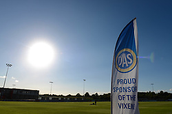 DAS, sponsors of Bristol Women Academy - Mandatory byline: Dougie Allward/JMP - 07966386802 - 27/08/2015 - FOOTBALL - Stoke Gifford Stadium -Bristol,England - Bristol Academy Women FC v Oxford United Women - FA WSL Continental Tyres Cup