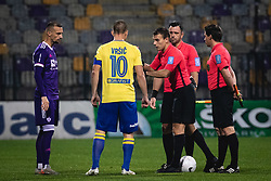 during football match between NK Maribor and FC Koper in 8th Round of Prva liga Telekom Slovenije 2020/21, on October 24, 2020 in Ljudski Vrt, Maribor, Slovenia. Photo by Blaž Weindorfer / Sportida
