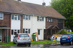 ***CHECK DETAILS WITH YASMIN AT MASONS BEFORE SENDING***The basildon home where previously convicted burglar Terry Ford dropped his prison ID whilst trying to gain entry. Basildon, Essex, May 02 2018.