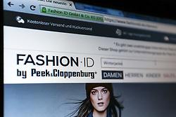 SYMBOLBILD - fashionID, Markenzeichen, Schriftzug, Startseite auf einem Computer, Bildschirmfoto // fashionID, logo, emblem, logo, brand, trademark, logo, homesite on a computer, screenshot. Internet. EXPA Pictures © 2016, PhotoCredit: EXPA/ Eibner-Pressefoto/ Deutzmann<br /> <br /> *****ATTENTION - OUT of GER*****