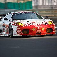 #83, Ferrari F430, JMB Racing, Drivers: Rodrigues, Marroc, Menahem, GTE AM, Sunday race, Le Mans 24H, 2011