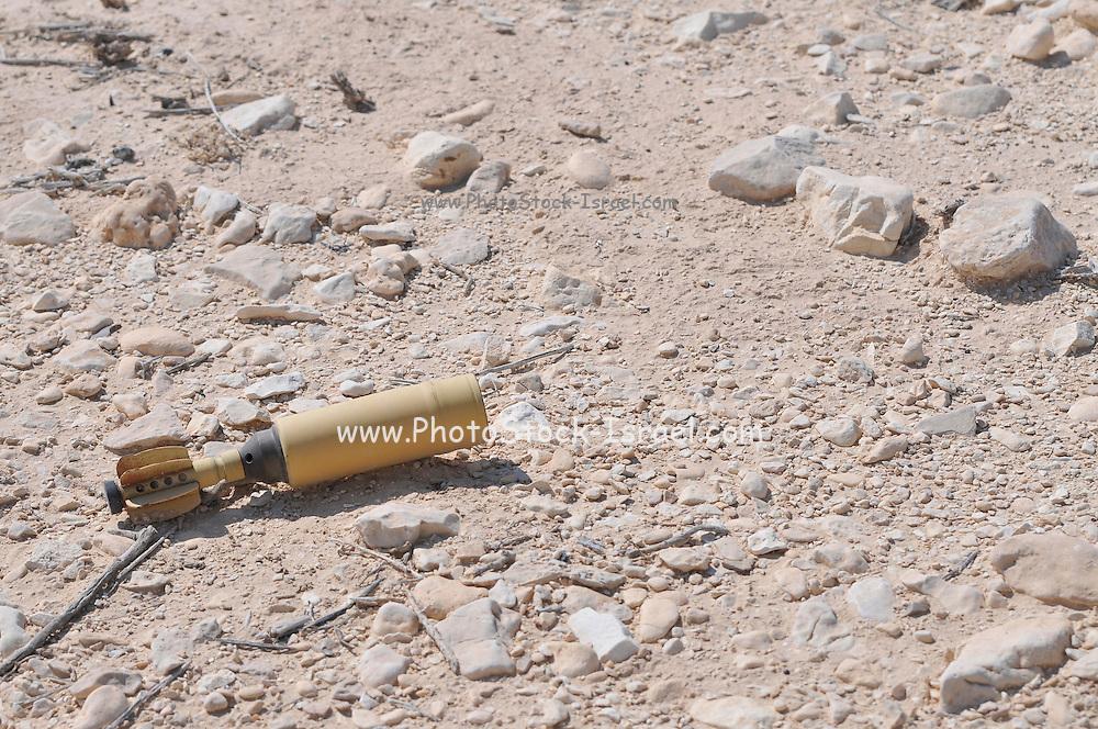 Israel, Aravah, remains of a shell