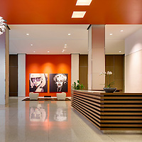 TurningArt at 230 W. Monroe, Lobby, Chicago, IL USA by Chicago photographer Wayne Cable