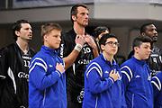 DESCRIZIONE : Campionato 2014/15 Serie A Beko Dinamo Banco di Sardegna Sassari - Upea Capo D'Orlando <br /> GIOCATORE : Sandro Nicevic<br /> CATEGORIA : Before Pregame<br /> SQUADRA : Upea Capo D'Orlando<br /> EVENTO : LegaBasket Serie A Beko 2014/2015 <br /> GARA : Dinamo Banco di Sardegna Sassari - Upea Capo D'Orlando <br /> DATA : 22/03/2015 <br /> SPORT : Pallacanestro <br /> AUTORE : Agenzia Ciamillo-Castoria/C.Atzori <br /> Galleria : LegaBasket Serie A Beko 2014/2015