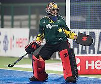 RAIPUR (India) .  goalie Andrew Charter (Aus) .Hockey World League Final  men . AUSTRALIA v CANADA   © Koen Suyk / Treebypictures