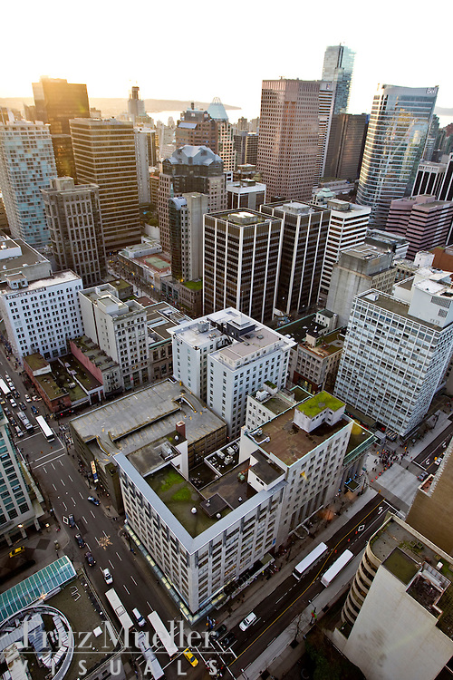 Aerial View of Canada's Northern House from Harbour Centre Tower