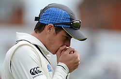 New Zealand's Mitchell Santner Photo mandatory by-line: Harry Trump/JMP - Mobile: 07966 386802 - 09/05/15 - SPORT - CRICKET - Somerset v New Zealand - Day 2- The County Ground, Taunton, England.