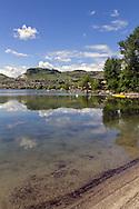Kal Beach at Kalamalka Lake in Vernon, British Columbia, Canada