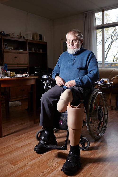 Oslo, 20141105<br /> Roger Holland, bydelsleder i Sagene handikapforbund, lider av diabetes.  <br /> Foto:Paul Paiewonsky / Dagbladet MAGASINET