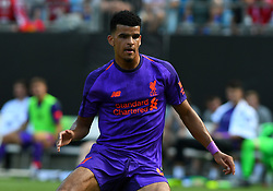 July 22, 2018 - Charlotte, NC, U.S. - CHARLOTTE, NC - JULY 22: Liverpool forward Dominic Solanke (29) during an International Champions Cup match between LiverPool FC and Borussia Dortmund on July 22 2018 at Bank Of America Stadium in Charlotte,NC.(Photo by Dannie Walls/Icon Sportswire) (Credit Image: © Dannie Walls/Icon SMI via ZUMA Press)