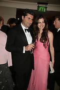 MR. AND MRS. MARWAN CHATILLA,  Grosvenor House Art & Antiques Fair charity gala evening in aid of Coram Foundation. Grosvenor House. Park Lane. London. 14 June 2007.  -DO NOT ARCHIVE-© Copyright Photograph by Dafydd Jones. 248 Clapham Rd. London SW9 0PZ. Tel 0207 820 0771. www.dafjones.com.