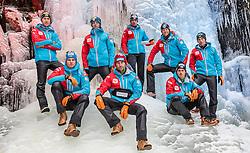 02.12.2015, Lillehammer, NOR, OESV, Nordische Kombinierer, Fotoshooting, im Bild v.l.: Mario Seidl, Harald Lemmerer, Fabian Steindl, Willi Denifl, Lukas Klapfer, Bernhard Gruber, Paul Gerstgraser, Philipp Orter // Mario Seidl, Harald Lemmerer, Fabian Steindl, Willi Denifl, Lukas Klapfer, Bernhard Gruber, Paul Gerstgraser, Philipp Orter during the Photoshooting of the Ski Austria Nordic Combined Team in Lillehammer on 2015/12/02 . EXPA Pictures © 2015, PhotoCredit: EXPA/ JFK