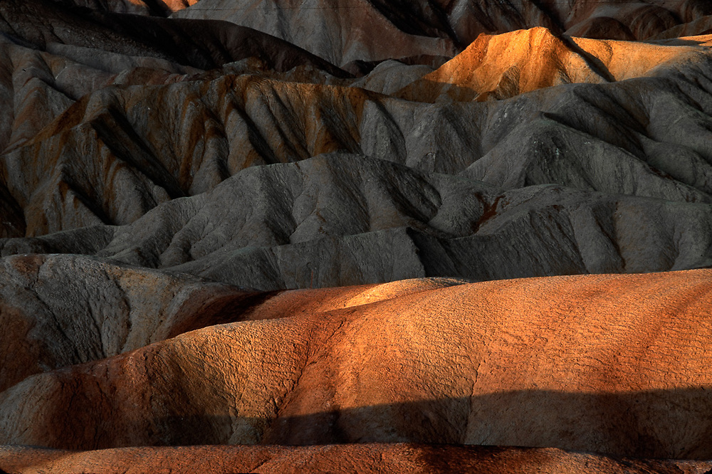 Morning view from Zabriskie Point, Death Valley National Park, California, USA