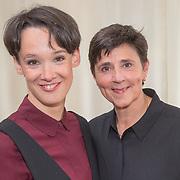 ** PRIVE,WEEKEND,STORY,PARTY OUT ** NLD/Utrecht/20151006 - Boekpresentatie Anne van Veen - 'Wie ik aan het zijn was', Anne van Veen en partner Han Bosman