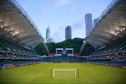 Hong Kong, China - Monday, July 23, 2007: A general view of Hong Kong Stadium before the Barclays Asia Trophy. (Photo by David Rawcliffe/Propaganda)