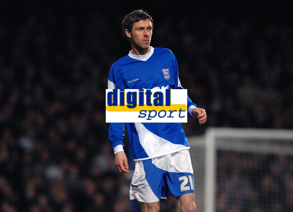 Photo: Ashley Pickering.<br />Ipswich Town v Colchester United. Coca Cola Championship. 20/01/2007.<br />Ipswich's new signing from Cork, George O'Callaghan