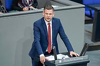 13 FEB 2020, BERLIN/GERMANY:<br /> Christoph de Vries, MdB, CDU, Sitzung des Deutsche Bundestages, Plenum, Reichstagsgebaeude<br /> IMAGE: 20200213-01-050