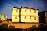 New apartment buildings in Gibara, Holguin, Cuba.