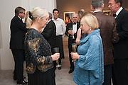JACQUI BEECROFT; KAREN HEARN, Mark Weiss dinner, Nationaal Portrait Gallery. London. 15 October 2012.