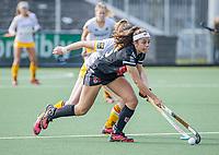 AMSTELVEEN -  Noor de Baat (Adam) tijdens  de hoofdklasse hockey competitiewedstrijd dames, Amsterdam-Den Bosch (0-1)  COPYRIGHT KOEN SUYK
