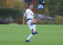 November 6, 2018 - London, England, United Kingdom - Enfield, UK. 06 November, 2018.Jack Roles of Tottenham Hotspur.during UEFA Youth League match between Tottenham Hotspur and PSV Eindhoven at Hotspur Way, Enfield. (Credit Image: © Action Foto Sport/NurPhoto via ZUMA Press)