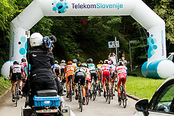 Leading group in Celje during 3rd Stage of 25th Tour de Slovenie 2018 cycling race between Slovenske Konjice and Celje (175,7 km), on June 15, 2018 in  Slovenia. Photo by Vid Ponikvar / Sportida