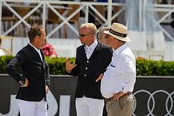 Hemeryck Rik, Guery Jerome, Weinberg Peter<br /> Grand Prix Rolex powered by Audi <br /> CSI5* Knokke 2019<br /> © Hippo Foto - Dirk Caremans<br /> 30/06/2019