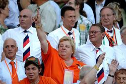 25-06-2006 VOETBAL: FIFA WORLD CUP: NEDERLAND - PORTUGAL: NURNBERG<br /> Oranje verliest in een beladen duel met 1-0 van Portugal en is uitgeschakeld / Erica Terpstra<br /> ©2006-WWW.FOTOHOOGENDOORN.NL