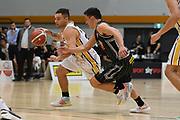 EnviroNZ Bulls Jaylen Gerrard in action in the Sal's NBL Basketball match, Taylor Hawks v EnviroNZ Bulls, Pettigrew Green Arena, Napier, Saturday, June 26, 2021. Copyright photo: Kerry Marshall / www.photosport.nz