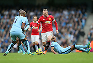 Manchester United's Wayne Rooney in action<br /> <br /> - Barclays Premier League - Manchester City vs Manchester Utd - Etihad Stadium - Manchester - England - 2nd November 2014  - Picture David Klein/Sportimage