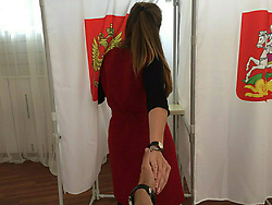 September 10, 2017 - Russia - Municipal and regional elections held across Russia on September 10, 2017, during a so-called single voting day. The Russian citizens elected 16 heads of regions, as well as  the legislative assembly lawmakers in six Russian federal subjects. In addition, the elections of lawmakers to the country's lower house of parliament, the State Duma, of the seventh convocation took place in two single-seat districts - Kingiseppsky district in the Leningrad Region and Bryansky district. Photo: twitter.com/GaraninaKatay (Credit Image: © Russian Look via ZUMA Wire)