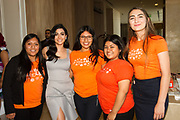 Emeraude Toubia with Step Up students