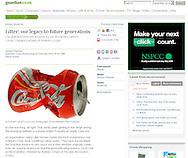 Guardian.co.uk - Crushed Coke Can - Wednesday Feb 24th 2010