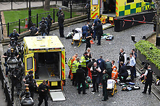 London: Palace of Westminster incident - 22 March 2017