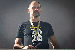 Ante Šimundža, head coach of Mura during reception of NS Mura players after winning Slovenian cup, on June 25, 2020 in Fazanerija, Murska Sobota, Slovenia. Photo by Blaž Weindorfer / Sportida