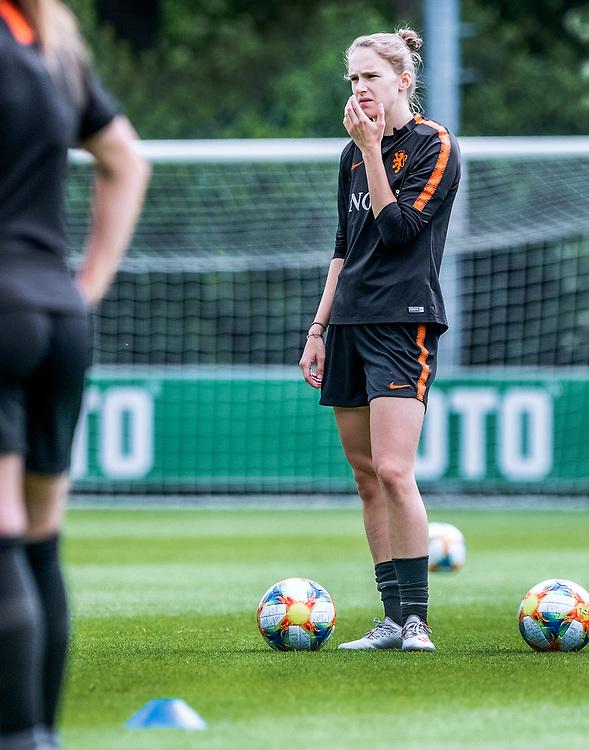 Netherlands. Zeist, 27-05-2019. Photo: Patrick Post. Training Nederlands Dames voetbalelftal. Vivianne Miedema.