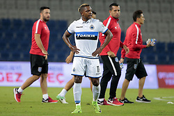 August 2, 2017 - Istanbul, Turquie - ISTANBUL, TURKEY - AUGUST 02 : Jose Izquierdo forward of Club Brugge looks dejected on the final whistle after the  defeat pictured during the UEFA Champions League third qualifying round 2nd leg match between Istanbul Basaksehir and Club Brugge at the Basaksehir Fatih Terim Stadium on August 02, 2017 in Istanbul, Turkey, 2/08/17 (Credit Image: © Panoramic via ZUMA Press)