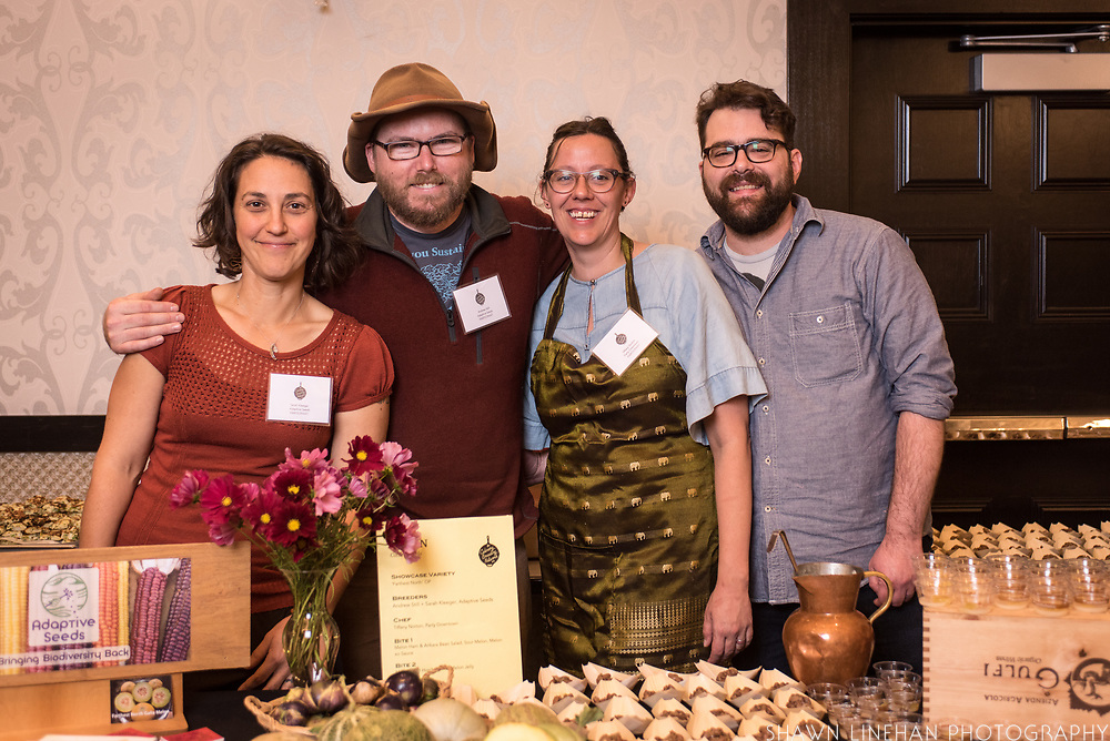 MELON, Cucumis melo<br />Showcase: 'Farthest North' OP <br />Breeders: Andrew Still & Sarah Kleeger, Adaptive Seeds<br />Chef: Tiffany Norton, Party Downtown<br />Dish: Melon Seed Horchata with Melon Jelly