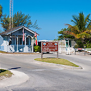 Admission booth ar Zachary Taylor park, Key West, Florida