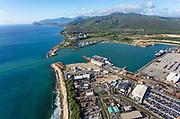 Barbers Point Harbor, Honolulu, Oahu, Hawaii