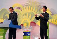 20110730: RIO DE JANEIRO, BRAZIL - Qualification draw for the 2014 World Cup held at the Marina da Gloria in Rio<br /> PHOTO: CITYFILES