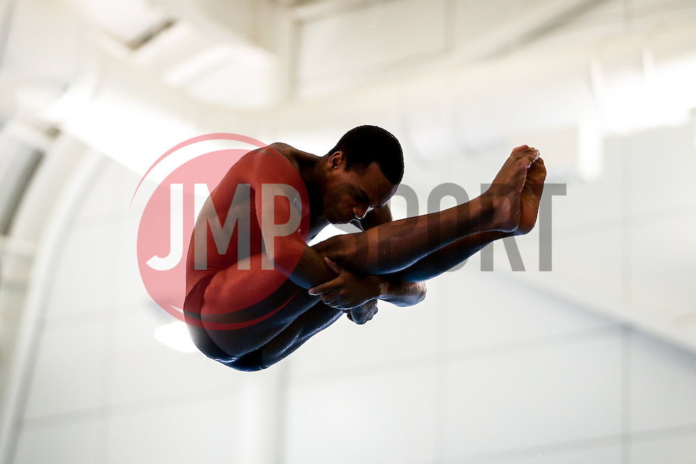 Pele Julien from Crystal Palace Diving Club (Guest) competes during the Mens 3m Springboard Preliminary - Mandatory byline: Rogan Thomson/JMP - 23/01/2016 - DIVING - Southend Swimming & Diving Centre - Southend-on-Sea, England - British National Diving Cup Day 2.