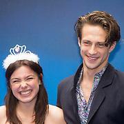 NLD/Rotterdam/20150315 - Premiere Cinderella, Abbey Hoes en partner Casper