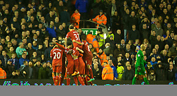 28.01.2014, Anfield, Liverpool, ENG, Premier League, FC Liverpool vs FC Everton, 23. Runde, im Bild Liverpool's Daniel Sturridge celebrates scoring the third goal against Everton // during the English Premier League 23th round match between Liverpool FC and Everton FC at Anfield in Liverpool, Great Britain on 2014/01/29. EXPA Pictures © 2014, PhotoCredit: EXPA/ Propagandaphoto/ David Rawcliffe<br /> <br /> *****ATTENTION - OUT of ENG, GBR*****
