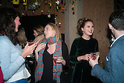 KATIE ROBERTSON-MACLEOD; PANDORA MCCORMICK; SYBILLA PHIPPS; KILLIAN BURKE, Fashion and Gardens, The Garden Museum, Lambeth Palace Rd. SE!. 6 February 2014.