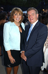 SIR NICHOLAS LLOYD and his wife EVE POLLARD at a party hosted by Andrew neil and The Business Newspaper held at The Ritz, Piccadilly, London on 12th July 2005.<br /><br />NON EXCLUSIVE - WORLD RIGHTS