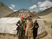 We (Mareile and Matthieu Paley) arrive at the summer camp of Moqur in Aq Jilga valley where our friend Mullah Bichek lives (met in Pakistan in September 2001). We have letters and tapes for him from his exiled sister Wooloka in Turkey.<br /> <br /> Adventure through the Afghan Pamir mountains, among the Afghan Kyrgyz and into Pakistan's Karakoram mountains. July/August 2005. Afghanistan / Pakistan.