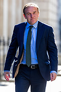 Environment Secretary George Eustice arrives in Downing Street on Tuesday, 21 July 2020 – to attend a Cabinet meeting for the first time since the lockdown to be held at the Foreign and Commonwealth Office (FCO) in London. (VXP Photo/ Vudi Xhymshiti)