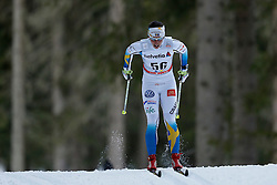 13.12.2014, Davos, SUI, FIS Langlauf Weltcup, Davos, 10 km, Frauen, im Bild Charlotte Kalla (SWE) // during Cross Country, 10km, ladies at FIS Nordic world cup in Davos, Switzerland on 2014/12/13. EXPA Pictures © 2014, PhotoCredit: EXPA/ Freshfocus/ Christian Pfander<br /> <br /> *****ATTENTION - for AUT, SLO, CRO, SRB, BIH, MAZ only*****